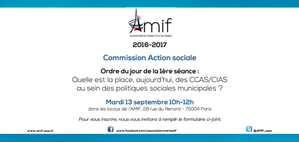 Commission Action sociale - Séance 1 - Mardi 13 septembre 10h